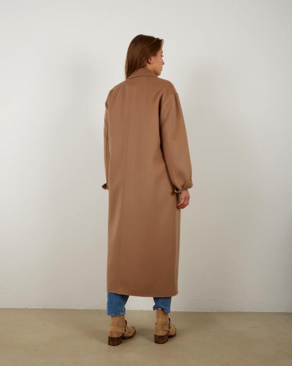 mantel Argo camel