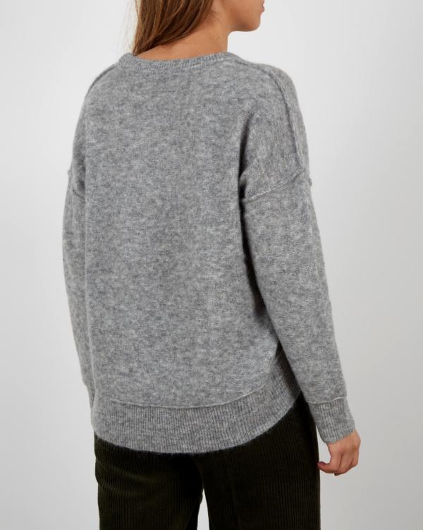 Biagio Knit sweater grey