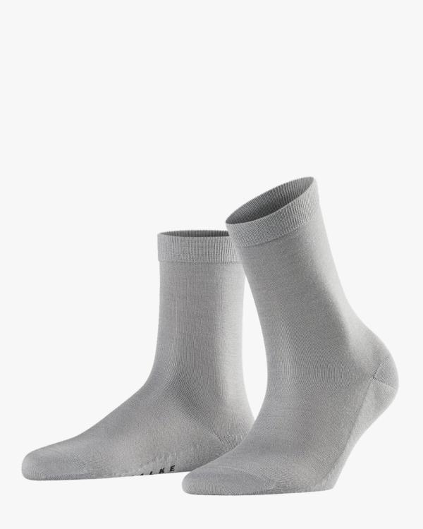 Sensual Silk Sokken Silver