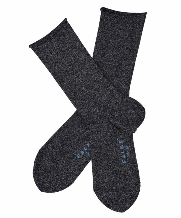 Shiny sokken marine
