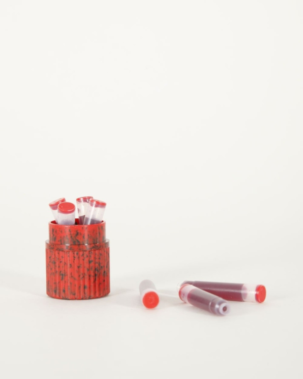 Inktpatronen rood