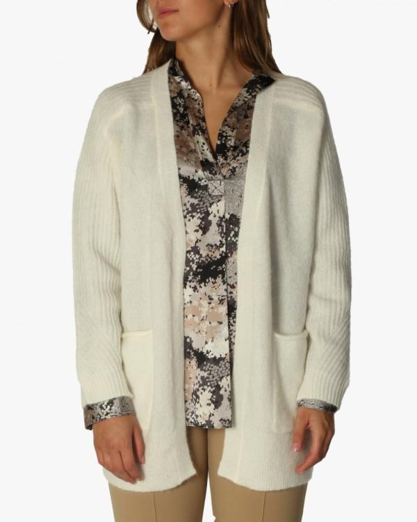 Ursula vest soft white