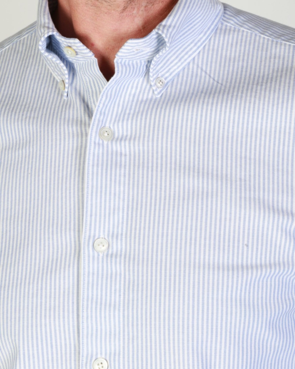 Shirt Tokyo blauw steep