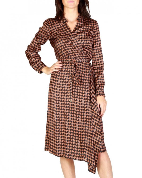 Kamala overslag jurk