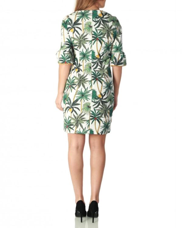 Kady jurk palmbomen print