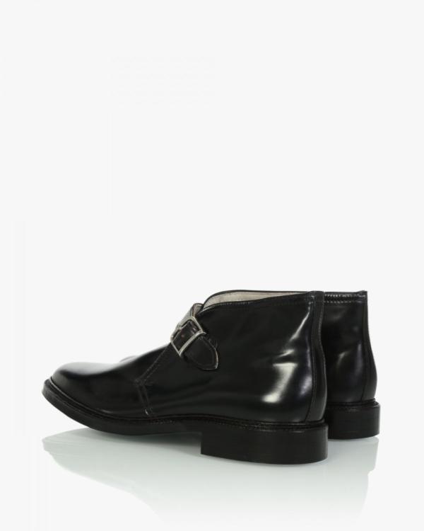 George Boot zwart Shell Cordovan 91810