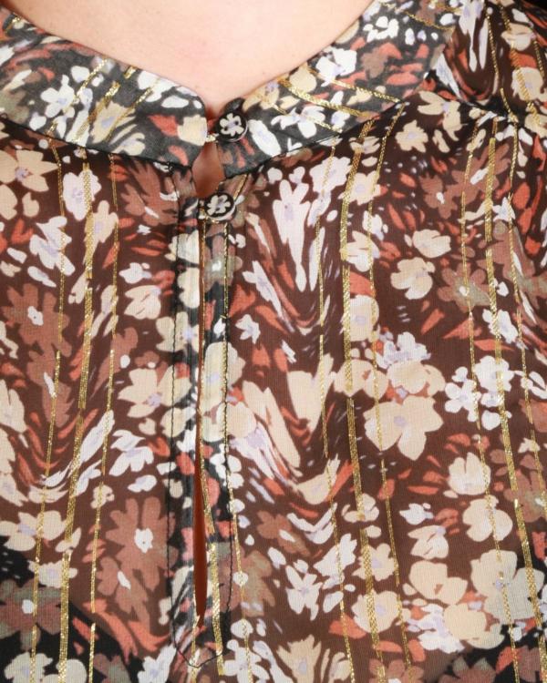 Hobby blouse bloemenprint