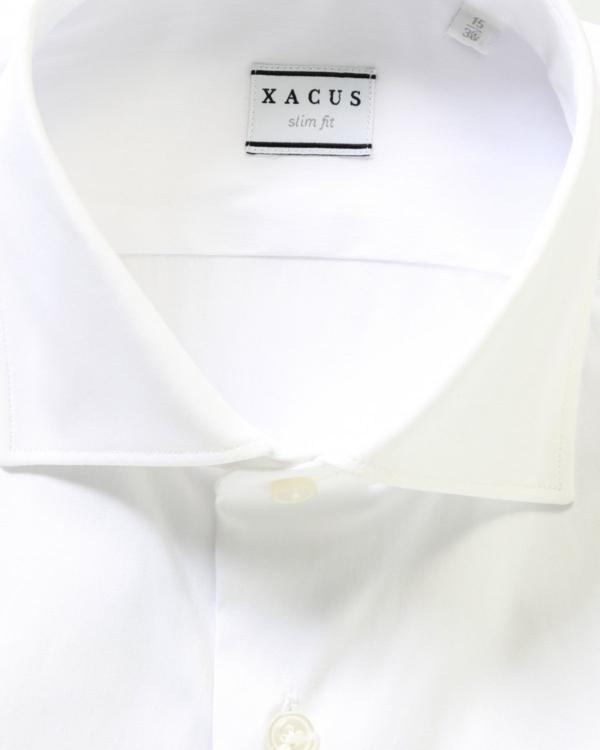 shirt slim fit wit