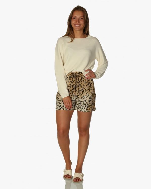 Short cheetah print