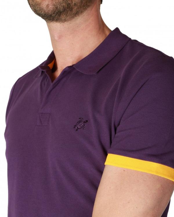 Poloshirt paars