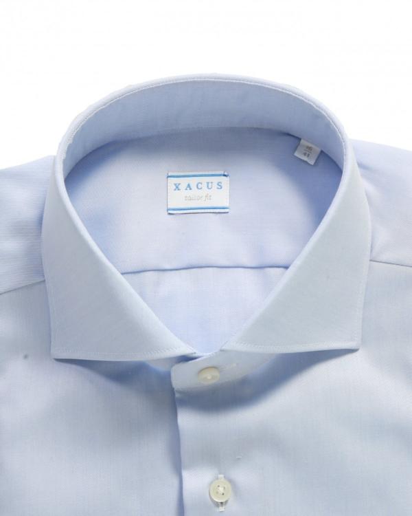 Shirt tailor fit blauw