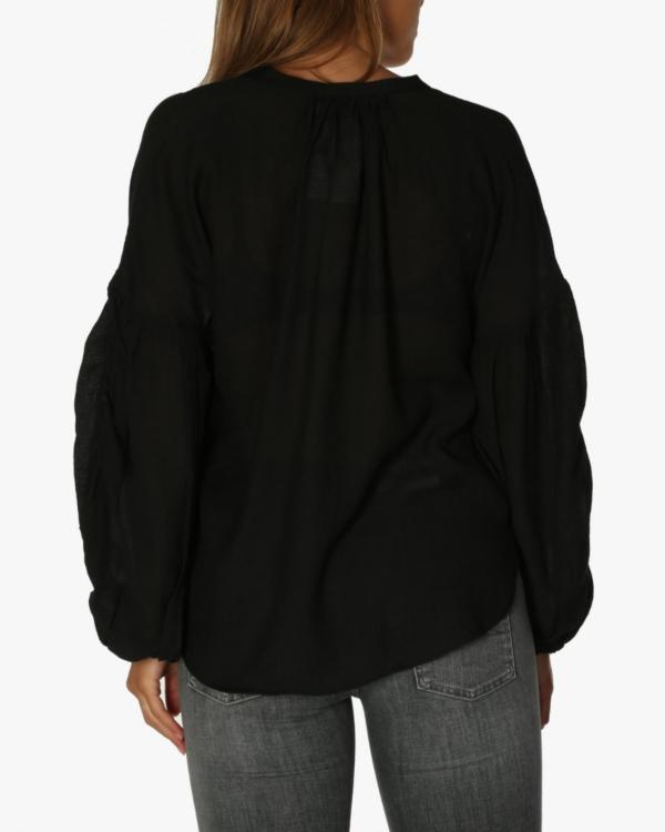 Meter blouse zwart