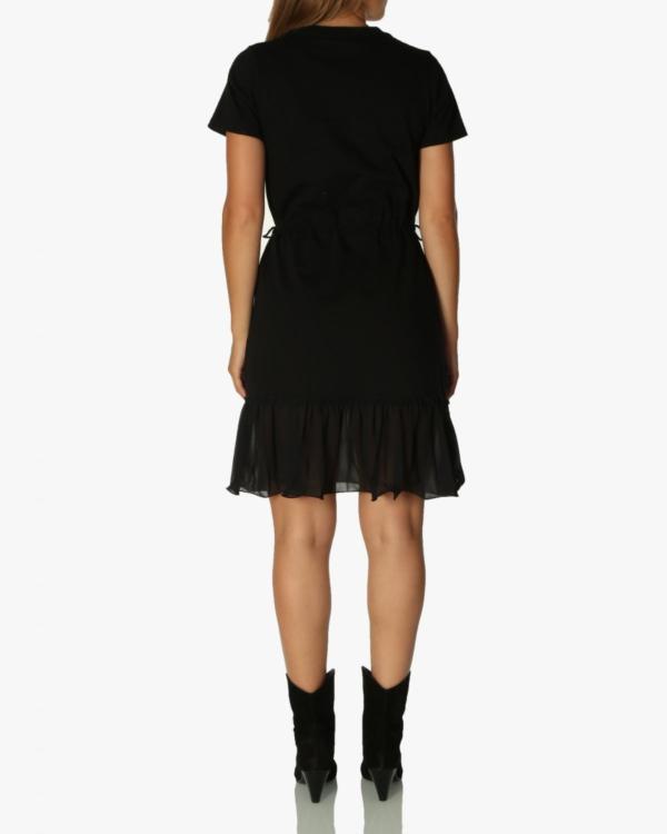 jurk korte mouw kort 001 black