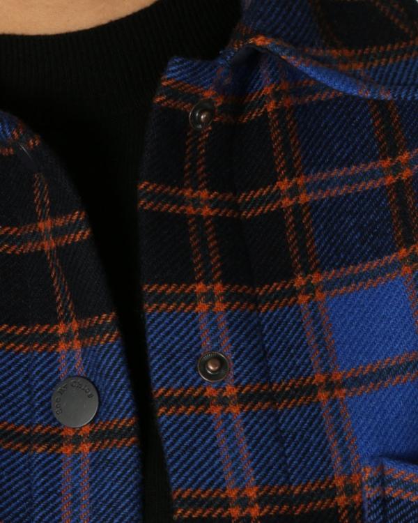Mantel geruit met kleur