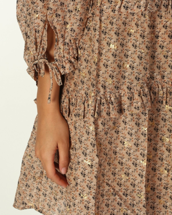 maggie jurk bloemen print