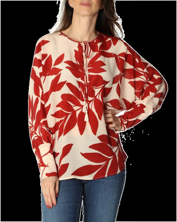 Abaco blouse print