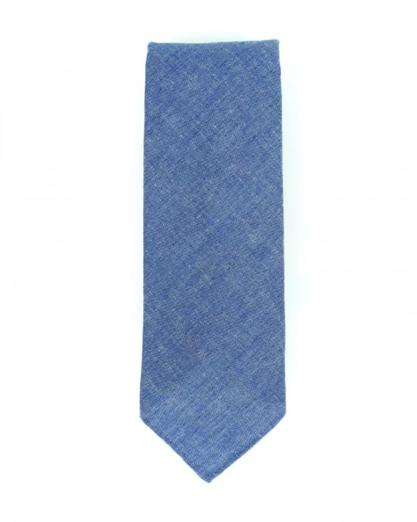 stropdas jeans blauw