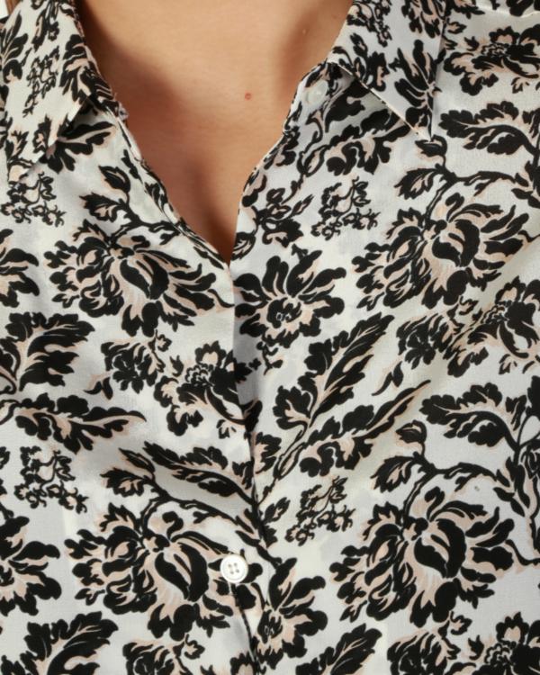 Venas blouse flower