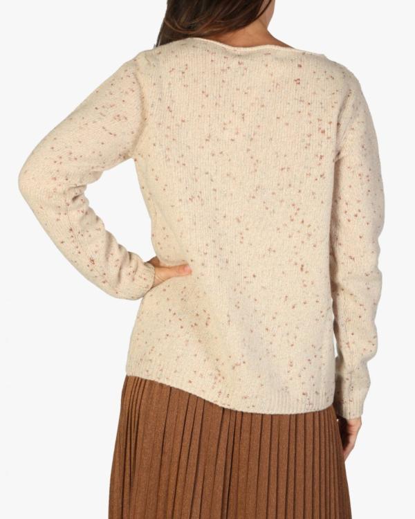 Taggart trui beige